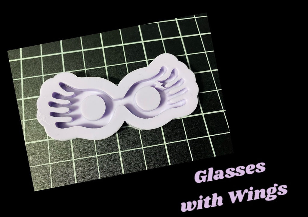 Glasses with Wings