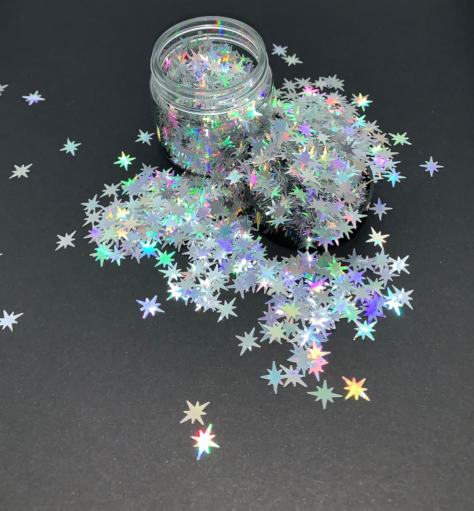Exploding Stars (Silver)