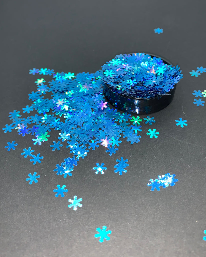 Small Snowflakes (Blue)
