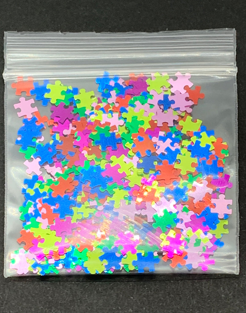 Puzzle Pieces (Rainbow)