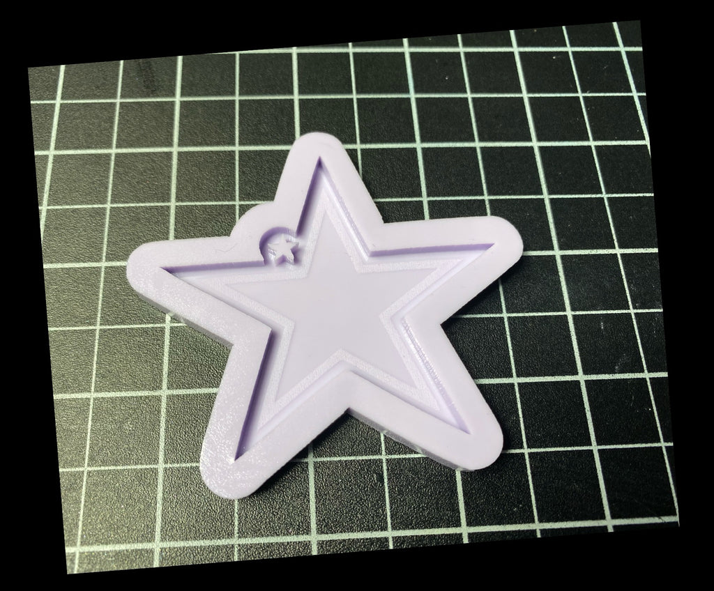 Etched Star Mold