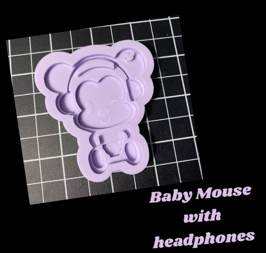 Mouse with Headphones