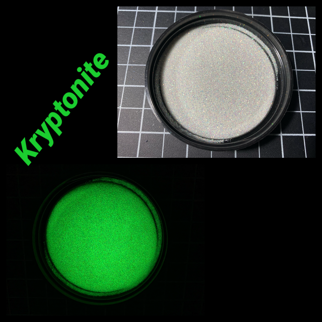 Kryptonite Glow Glitter