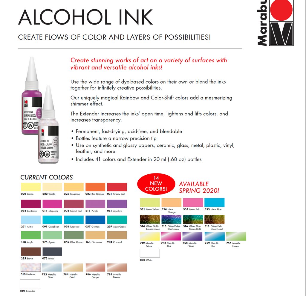 Marabu Alcohol Inks