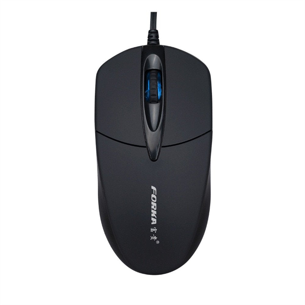 Heyuan A867 Gaming Mouse 7 Buttons 6400Dpi Optical USB Wired Desktop Mice RGB Backlit Mice for PC Computer Laptop Gamers