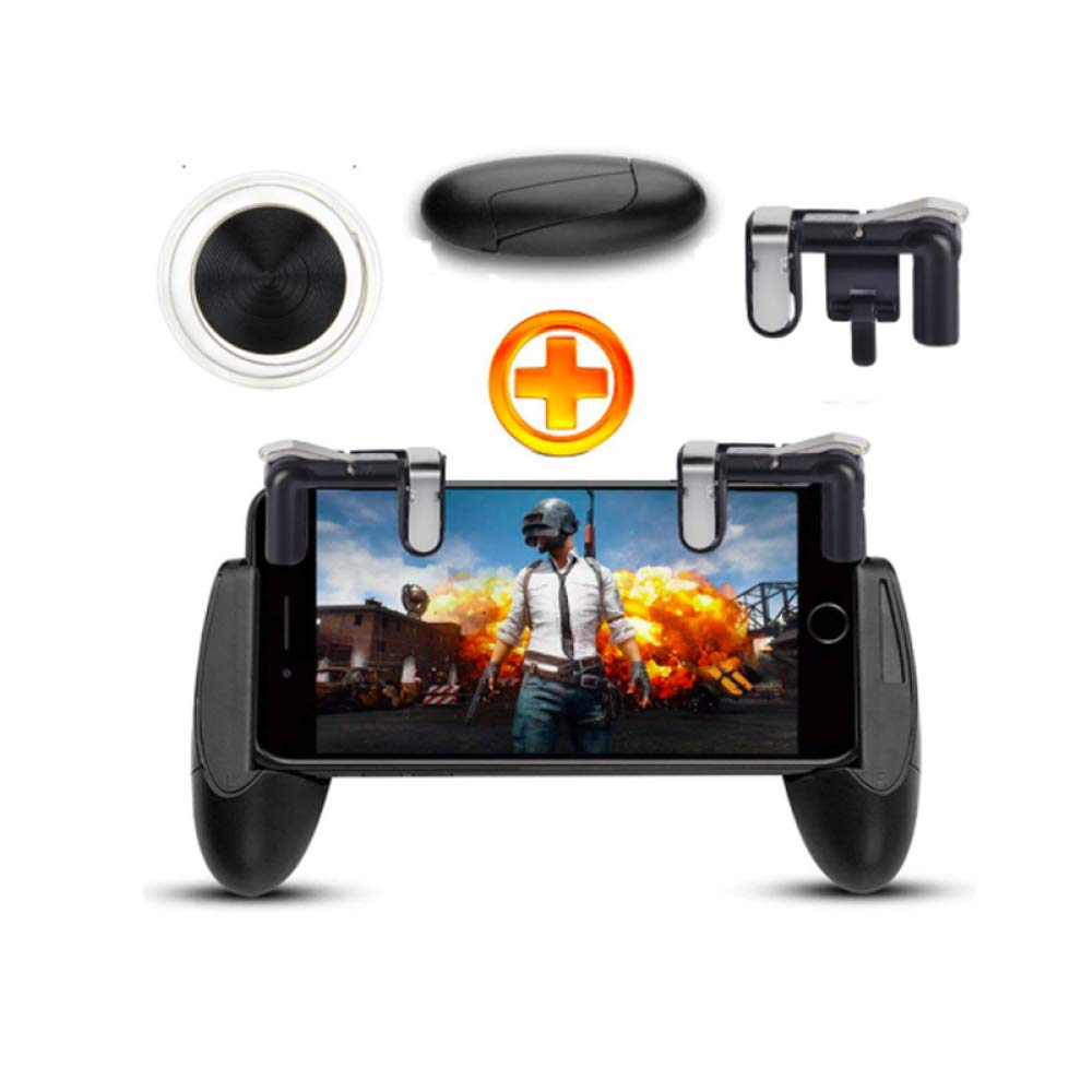 OUYAWEI 1 Pair Mobile Game Controller Trigger Aim Button for PUBG Shooter Joystick Gamepad for Android iOS Gaming Accessories