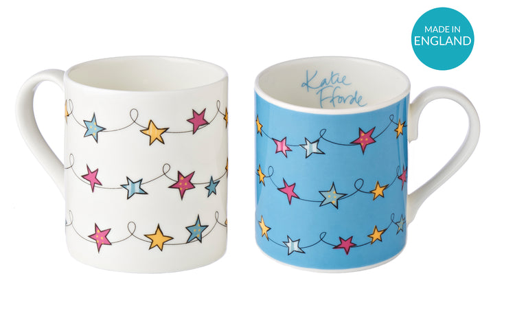 Set of Star Mugs