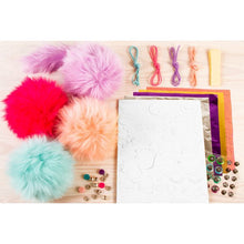 Load image into Gallery viewer, Make It Real Cuddle Mob: Create Four Soft Pom-Pom Characters