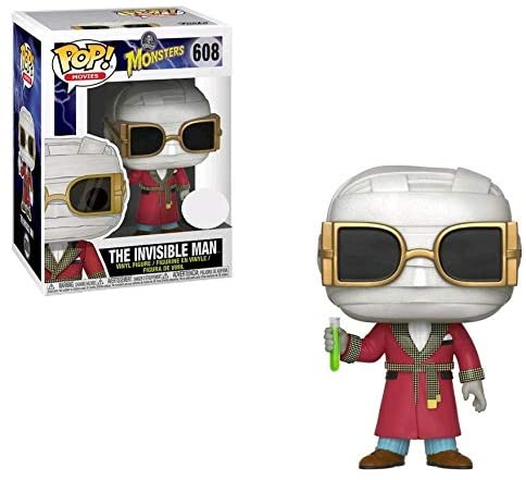 Funko Monsters POP!  Movie THE INVISIBLE MAN Figure #608
