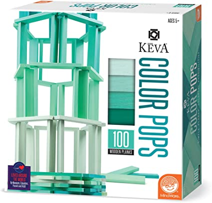 KEVA Color Pops: Teal
