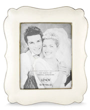 "Load image into Gallery viewer, Lenox Wedding Promises ""Opal Innocence"" 8x10 Picture Frame"