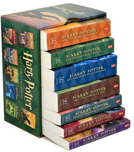 Harry Potter The Complete Series Set Books Full Set 1-7 Soft Cover