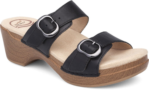 Dansko Sophie Full Grace Women's Sandal/Clog Black Leather
