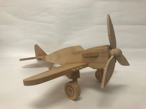 Wooden airplane, ecological toy for your child, Montessori Toy