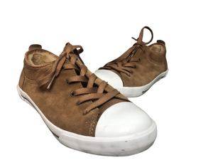 Ugg Australia Womens Evrera Tan Suede Tennis Shoes Size  5 EUC