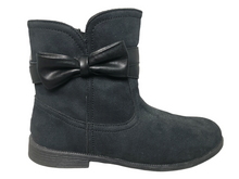 Load image into Gallery viewer, UGG Joanie Bow 1094585K Boot Women's Black Size 6 NWOT