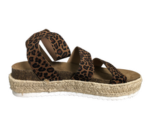 Load image into Gallery viewer, Time and True Leopard Espadrilles Size 8 NWT