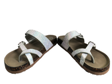 Load image into Gallery viewer, Wonder Nation Flatbed Sandals Women Size 6