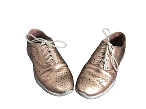 Cole Haan Rose Gold Zerogrand Shoes Size 6.5