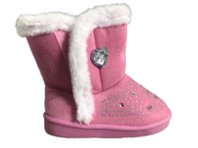 Load image into Gallery viewer, Swiggles Toddler Girl's Boots With Rhinestones Size 9