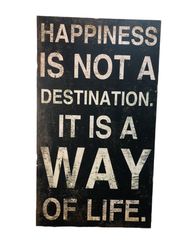 Wall Art Happiness Sign