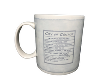 Load image into Gallery viewer, Starbucks Coffee Mug Chicago Architectural Series  18 oz