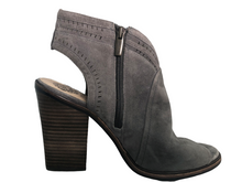 Load image into Gallery viewer, Vince Camuto Koral Heeled Peep Toe Suede Bootie Size 11