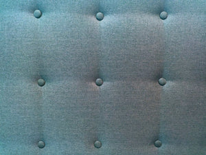 Royal Blue Safavieh Full Size Headboard EUC