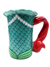 Load image into Gallery viewer, DISNEY PARKS 10 oz COFFEE MUG CUP PRINCESS ARIEL LITTLE MERMAID SIGNATURE RELIEF