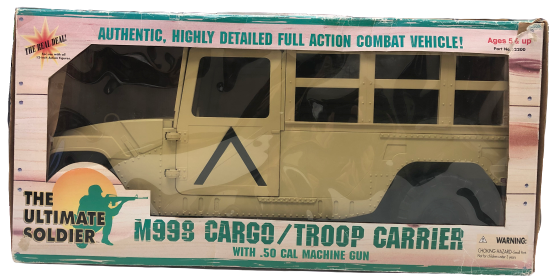 The Ultimate Soldier *Rare* 1:6 Scale M998 Cargo/Troop Carrier