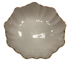 Load image into Gallery viewer, Lenox 24k Gold Trim Scalloped Round Bowl Candy Dish Made In Usa