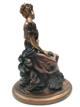 Load image into Gallery viewer, Austin Sculpture Statue Sitting Victorian Lady Women