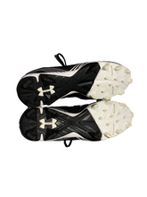 Load image into Gallery viewer, Under Armour ~ Womens Glyde Rm Black Softball Cleats Size 7.5 (819826)