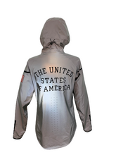 Load image into Gallery viewer, Nike 2012 Olympic Team USA Medal Stand Podium Reflective Wind Runner Jacket Medium RARE
