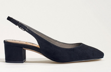 Load image into Gallery viewer, Sam Edelman Lorene Slingback Block Heel Black Women 6