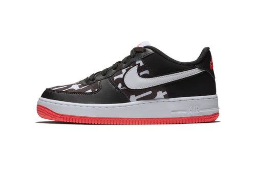 Nike Air Force 1 JDI JUST DO IT BLACK AQ9476 001 Kids Sneaker Size 4Y