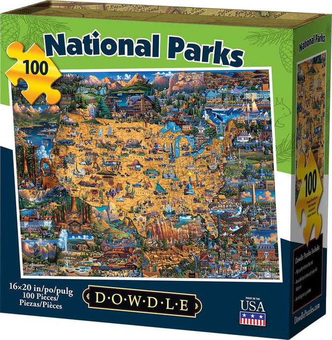 National Parks Jigsaw Puzzle - Eric Dowdle - 500 Pieces
