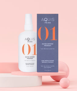 Aquis Prime 01 Water Defense Prewash New In Box 12 oz Hair Care