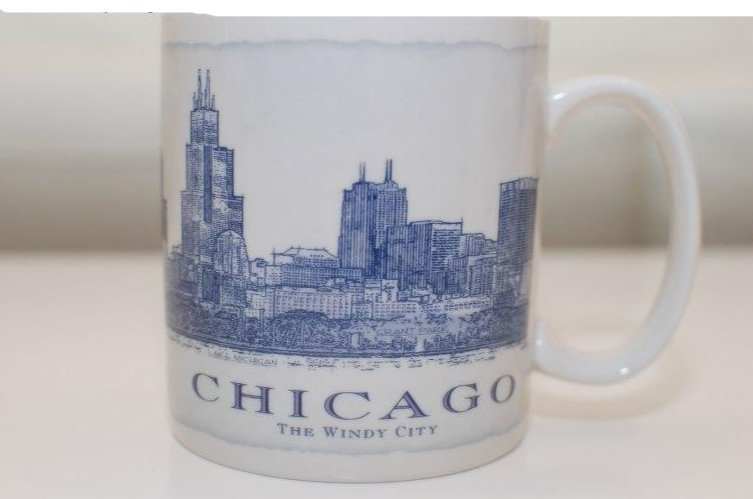 Starbucks Coffee Mug Chicago Architectural Series  18 oz