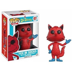Funko Dr. Seuss POP! Books FOX IN SOCKS Figure #07