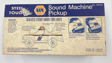 Load image into Gallery viewer, NYLINT Napa Auto Parts Steel Pickup Truck Toy 1275N Sound Machine & Lights 1993