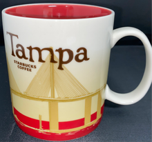 Load image into Gallery viewer, Starbucks Tampa 2011 Collector Series Mug 16 fl oz Cup EUC