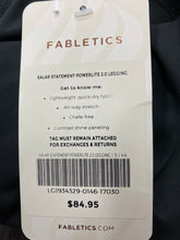 Load image into Gallery viewer, Fabletics Salar Statement Powerlite 2.0 Black Legging Size Small NWT