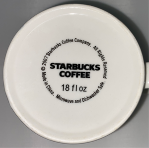 Starbucks Coffee Mug Fort Lauderdale Architectural Series  18 oz