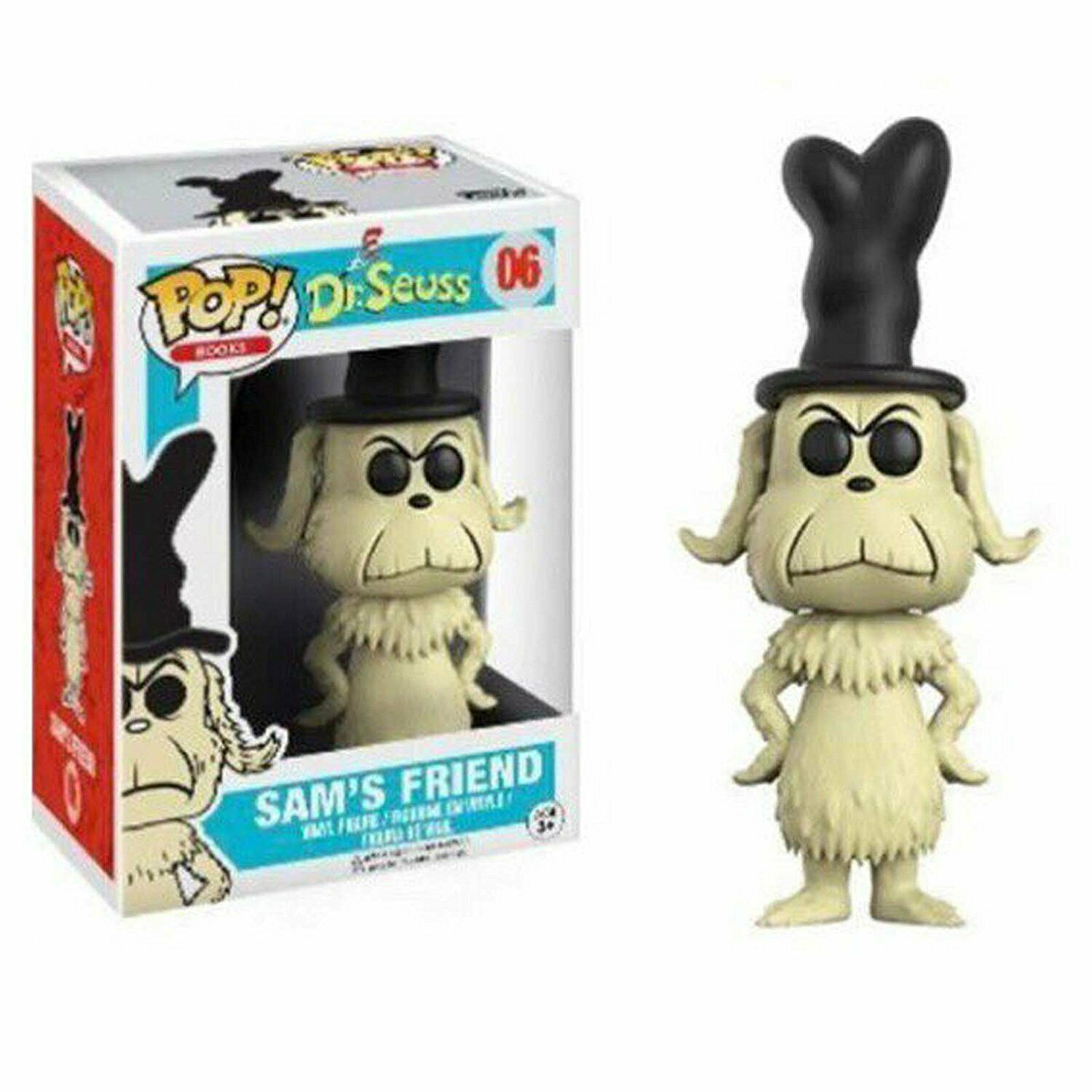 Funko Dr. Seuss POP! Books SAM'S FRIEND Vinyl Figure #06