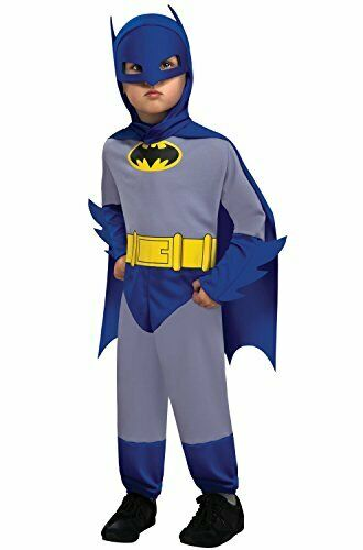 DC Comics Batman ~ Suit Halloween Costume ~ Toddler (2T-4T) ~By Rubies ~ New