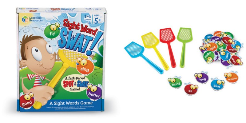 Learning Resources Sight Words Swat! A Sight Words Game