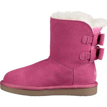 Load image into Gallery viewer, Koolaburra By UGG Little Girls Short Boots Attie Raspberry Rose Pink Kids Boot Size 13