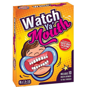 Watch Ya' Mouth Game with 10 Mouth Openers