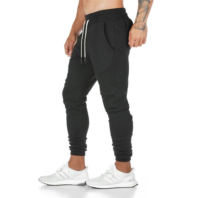Solid Color Gyms Fitness Workout Sportswear Trousers